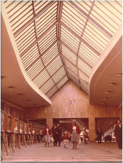 Gara de Nord, interior