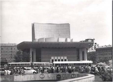 Teatrul National din PIata Universitatii in forma nemodernizata