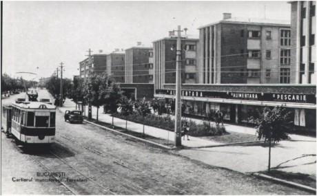 Cartierul muncitoresc Ferentari, probabil in anii '45-'50