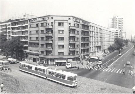 Intersectia Dorobanti - Stefan cel Mare (Perla) probabil in anii '80