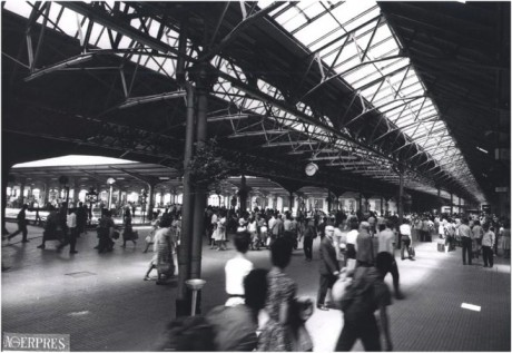 Gara de Nord, interior. Fotografie realizata de Agerpres